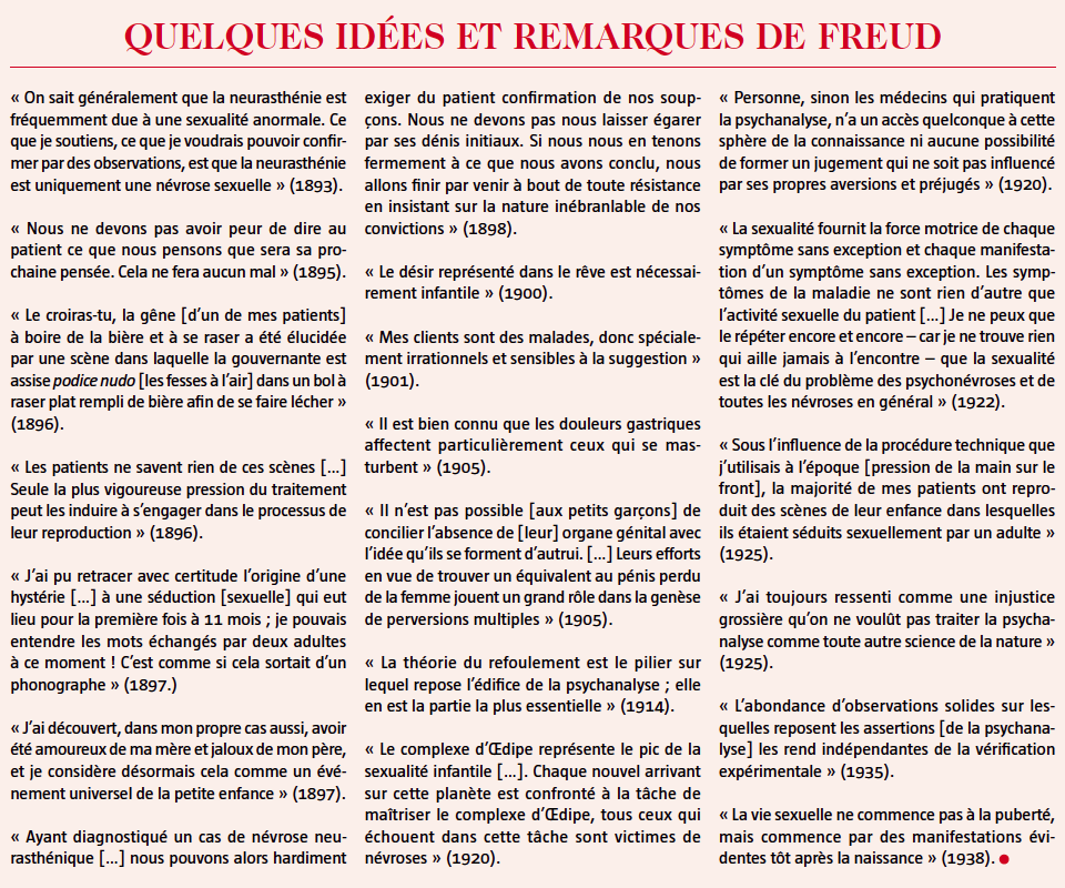 idees et remarques freud