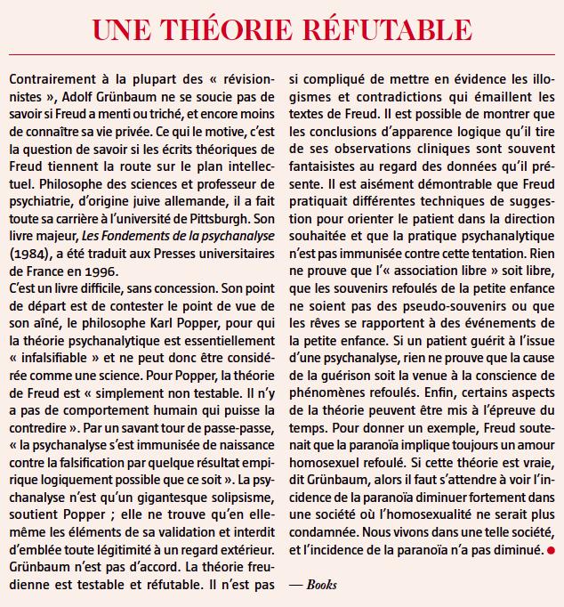 theorie refutable